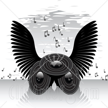clip art angel wings. Passing Of Angels: The Week of
