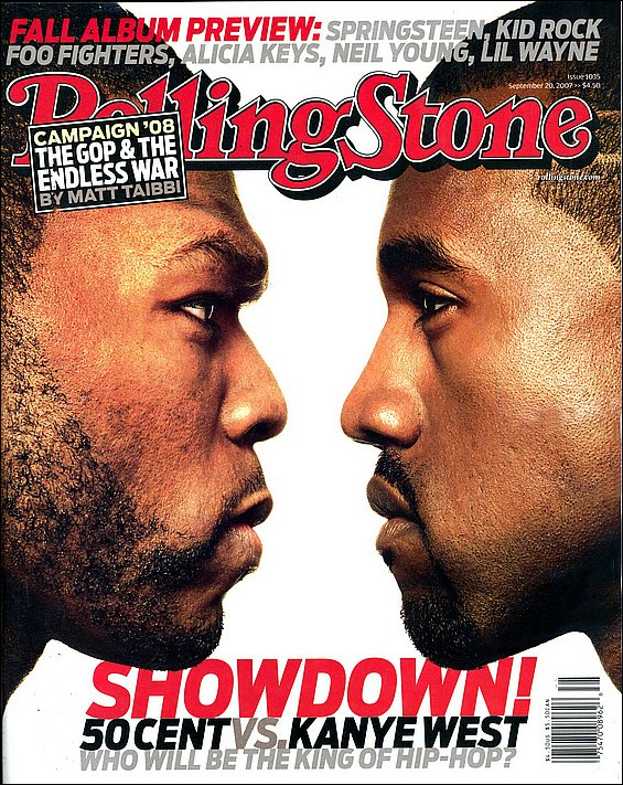 Kanye and 50 Cent go for broke | Life and style | The Guardian