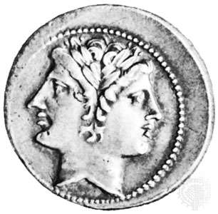 god-coin-beardless-Janus-Roman-Bibliotheque-Nationale